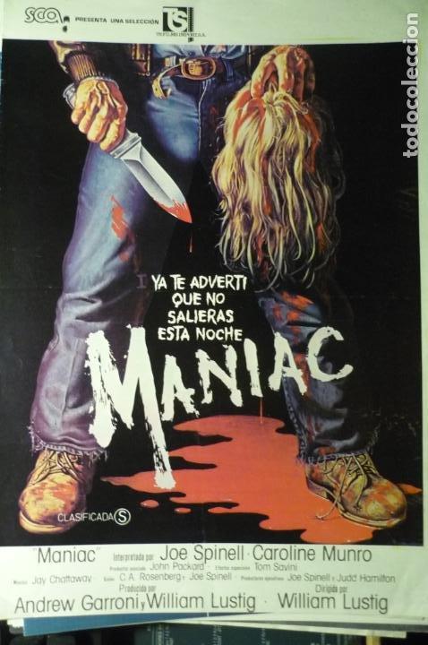 GUIA DOBLE MANIAC (Cine - Guías Publicitarias de Películas )