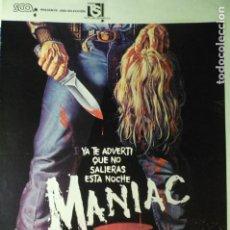 Cine: GUIA DOBLE MANIAC. Lote 234493915
