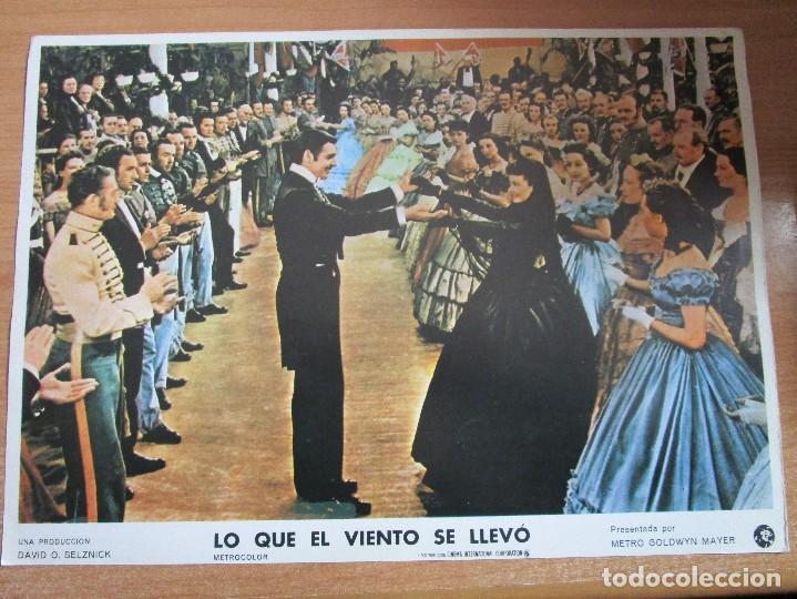Cine: 12 CARTELERAS DE LA PELICULA DE TODOS LOS TIEMPOS LO QUE EL VIENTO SE LLEVO - Foto 4 - 234925875
