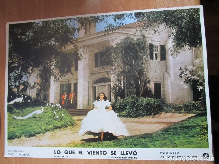 Cine: 12 CARTELERAS DE LA PELICULA DE TODOS LOS TIEMPOS LO QUE EL VIENTO SE LLEVO - Foto 5 - 234925875