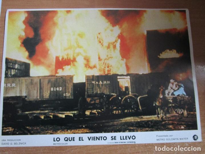 Cine: 12 CARTELERAS DE LA PELICULA DE TODOS LOS TIEMPOS LO QUE EL VIENTO SE LLEVO - Foto 6 - 234925875