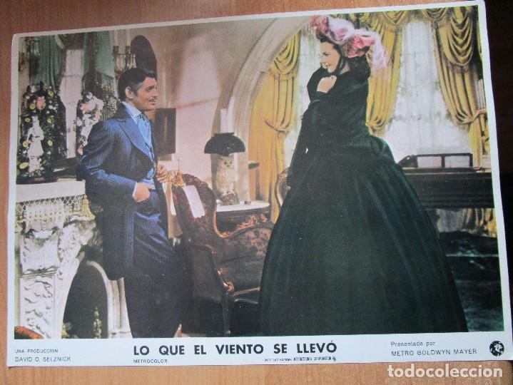 Cine: 12 CARTELERAS DE LA PELICULA DE TODOS LOS TIEMPOS LO QUE EL VIENTO SE LLEVO - Foto 7 - 234925875