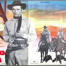 Cine: G8299D CAMINO DE LA HORCA KIRK DOUGLAS VIRGINIA MAYO RAOUL WALSH GUIA ESTRENO ORIGINAL MUNDIAL. Lote 236049400