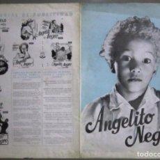Cine: G8412D ANGELITO NEGRO UMBERTO SPADARO GUIA ORIGINAL CHAMARTIN ESTRENO. Lote 236049545