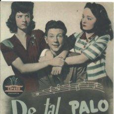 Cine: G6411D DE TAL PALO TAL ASTILLA DONALD O'CONNOR HISPANIA ARTIS GUIA ORIGINAL CIFESA ESTRENO. Lote 236057615