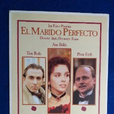 Cine: GUIA PUBLICITARIA: EL MARIDO PERFECTO. ANA BELEN, TIM ROTH, PETER FIRTH, AITANA SANCHEZ. AÑO 1993. Lote 236232485
