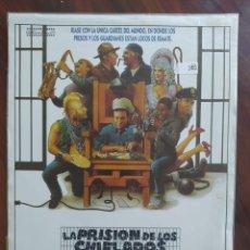 Cine: LA PRISIÓN DE LOS CHIFLADOS (DOIN´TIME), 1985 - GUÍAS PROMOCIONAL Y PUBLICITARIAS DE PELÍCULAS. Lote 238625115
