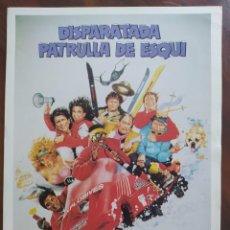 Cine: DISPARATADA PATRULLA DE ESQUÍ, 1990 (SKI PATROL) - GUÍAS PROMOCIONAL Y PUBLICITARIAS DE PELÍCULAS. Lote 238626180
