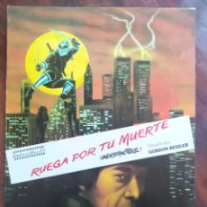 Cine: RUEGA POR TU MUERTE (PRAY FOR DEATH) - G. HESSLER - GUÍAS PROMOCIONAL Y PUBLICITARIAS DE PELÍCULAS. Lote 238627795