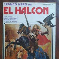 Cine: EL HALCÓN, BANOVIC STRAHINJA, 1981 - VATROSLAV MIMICA GUÍAS PROMOCIONAL Y PUBLICITARIAS DE PELÍCULAS. Lote 238628210
