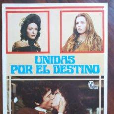 Cine: UNIDAS POR EL DESTINO, 1977 (LE DUE ORFANELLE) - GUÍAS PROMOCIONAL Y PUBLICITARIAS DE PELÍCULAS. Lote 238630185