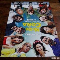 Cine: NI DE COÑA - NATHALIE SESEÑA, GOYO JIMÉNEZ, J.J. VAQUERO, JORDI SÁNCHEZ - GUIA ORIGINAL ALFA 2020. Lote 239896260