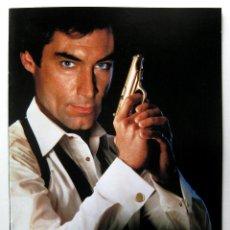 Cine: JAMES BOND 007: LICENSE TO KILL, TIMOTHY DALTON - GUIA JAPONESA - JAPAN PRESSBOOK 1989 BPY. Lote 243043125