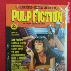 Cine: GUIA PUBLICITARIA. PULP FICTION. JOHN TRAVOLTA, UMA THURMAN. DIR: QUENTIN TARANTINO.. Lote 243111420