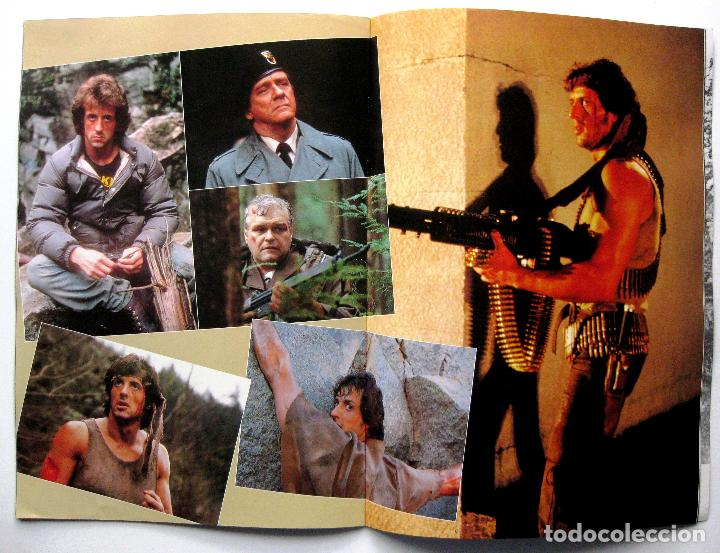 Cine: First Blood (Acorralado) Rambo, Sylvester Stallone - Guia Japonesa - Japan Pressbook 1982 BPY - Foto 5 - 243128080