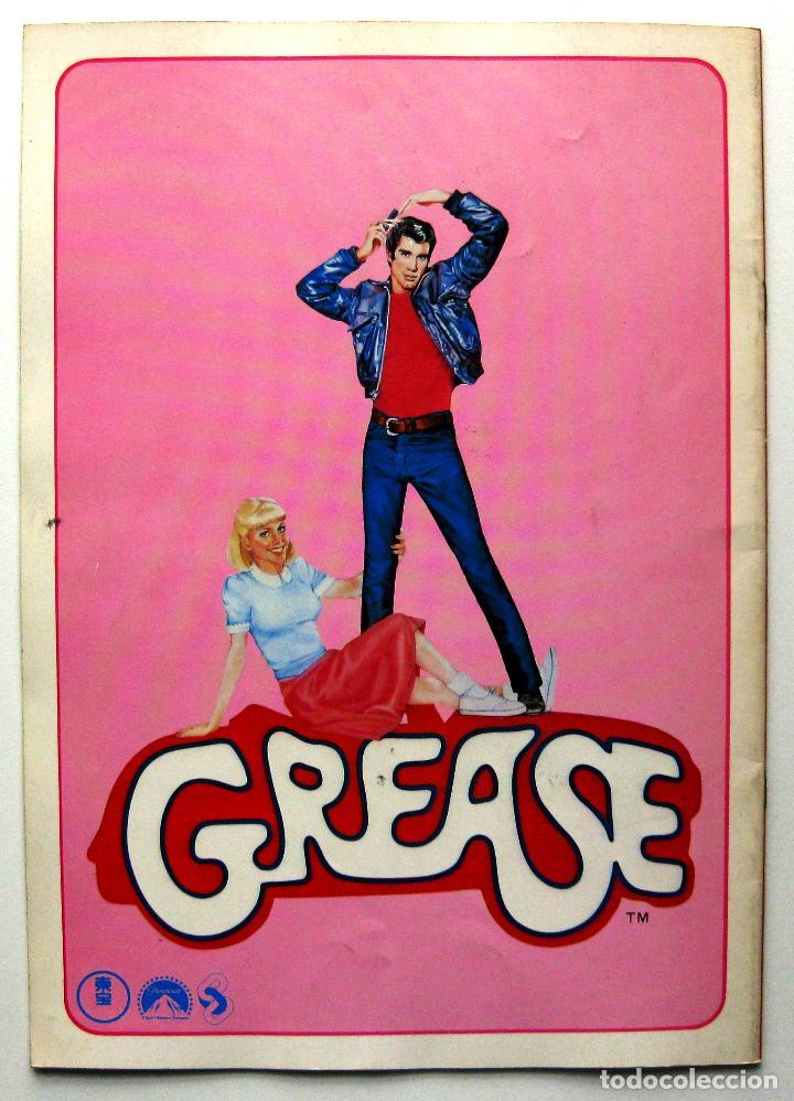 Cine: Grease, John Travolta, Olivia Newton-John - Guia Japonesa - Japan Pressbook 1978 BPY - Foto 2 - 243136785