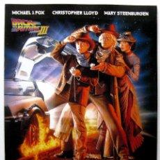 Cine: BACK TO THE FUTURE PART III (REGRESO AL FUTURO III) - GUIA JAPONESA - JAPAN PRESSBOOK 1990 BPY. Lote 243138625