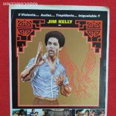 Cine: GUIA: HONG KONG CONNECTION. JIM KELLY. Lote 243454955