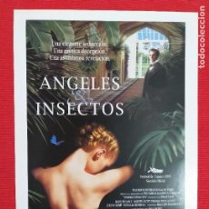 Cine: GUIA: ANGELES E INSECTOS. PATSY KENSIT, MARK RYLANCE. Lote 243458615