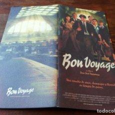 Cine: BON VOYAGE - ISABELLE ADJANI, GÉRARD DEPARDIEU, VIRGINIE LEDOYEN - GUIA ORIGINAL DE LUJO MANGA 2005. Lote 243893275