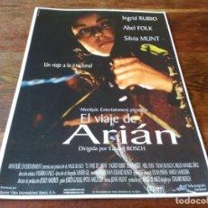 Cine: EL VIAJE DE ARIÁN - INGRID RUBIO, ABEL FOLK, SILVIA MUNT - GUIA ORIGINAL LUJO BUENAVISTA 2000. Lote 244600580