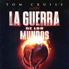 Cine: LA GUERRA DE LOS MUNDOS GUÍA ORIGINAL DOBLE CON FOTOS DE SU ESTRENO EN ESPAÑA TOM CRUISE. Lote 244660495