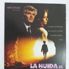 Cine: GUIA: LA HUIDA DEL INOCENTE. JACQUES PERRIN, FRANCESCA NERI, MANUEL COLAO. AÑO 1993. Lote 245031655