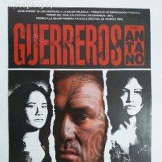 Cine: GUIA: GUERREROS DE ANTAÑO. RENA OWEN, TEMUERA MORRISON, LEE TAMAHORI. AÑO 1994. Lote 245047940