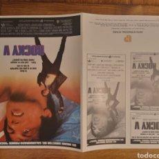 Cine: GUÍA PUBLICITARIA PELICULA ROCKY V SYLVESTER STALLONE. Lote 245104575