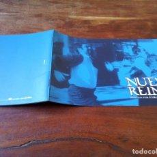 Cine: NUEVE REINAS - RICARDO DARÍN, GASTÓN PAULS, LETICIA BRÉDICE - GUIA ORIGINAL LUJO ALTA FILMS 2000. Lote 245468505