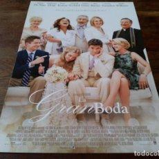 Cine: LA GRAN BODA - ROBERT DE NIRO, KATHERINE HEIGL,DIANE KEATON,SUSAN SARANDON - GUIA ORIGINAL EONE 2013. Lote 245717960