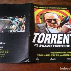 Cine: TORRENTE EL BRAZO TONTO DE LA LEY - TONY LEBLANC, JAVIER CAMARA,S. SEGURA - GUIA ORIGINAL LUJO 1998. Lote 246162400