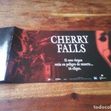 Cine: CHERRY FALLS - BRITTANY MURPHY, MICHAEL BIEHN, JAY MOHR - GUIA ORIGINAL LUJO FILMAX 2000. Lote 246164485