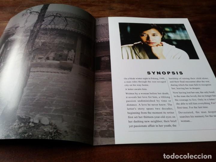 Cine: Carta de una mujer desconocida - Jiang Wen, Xu Jinglei, Huang Jue - guia original lujo barton 2004 - Foto 2 - 246342690