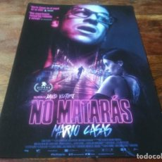 Cinéma: NO MATARAS - MARIO CASAS, MILENA SMIT, JOAQUÍN CASERZA, VICTOR SOLE - GUIA ORIGINAL FILMAX 2020. Lote 246962925