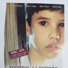 Cine: GUIA: SECRETOS DEL CORAZÓN. CARMELO GÓMEZ, CHARO LÓPEZ, SILVIA MUNT, VICKY PEÑA. Lote 247352630