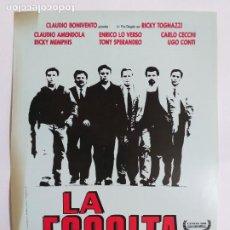 Cine: GUIA: LA ESCOLTA. CLAUDIO AMENDOLA, ENRICO LO VERSO, CARLO CECCHI. Lote 247355460