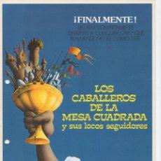 Cine: LOS CABALLEROS DE LA MESA CUADRADA. Lote 254144460