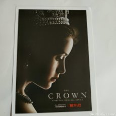 Cine: MCG109 THE CROWN MICRO GUIA TAMAÑO 10 X 14,50. Lote 254287780
