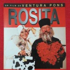 Cine: GUIA PUBLICITARIA. ROSITA, PLEASE. AMPARO MORENO, PAVEL ANGELOV, MERCÈ ARÀNEGA.. Lote 254469690