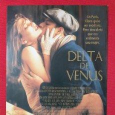 Cine: GUIA PUBLICITARIA DELTA DE VENUS. CON: AUDIE ENGLAND. Lote 254737975