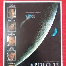 Cine: GUIA: APOLO 13. TOM HANKS, ED HARRIS, GARY SINISE, KEVIN BACON. AÑO 1995. Lote 254951145