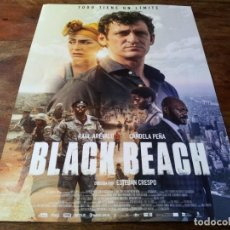 Cinéma: BLACK BEACH - RAÚL ARÉVALO, CANDELA PEÑA, MELINA MATTHEWS - GUIA ORIGINAL EONE 2020. Lote 257331735