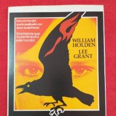 Cine: GUIA PUBLICITARIA: LA MALDICION DE DAMIEN. CON: LEE GRANT, WILLIAM HOLDEN. Lote 257496970