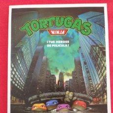 Cine: GUIA: TORTUGAS NINJA. JUDITH HOAG, ELIAS KOTEAS, JOSH PAIS, MICHELAN SISTI. AÑO 1990. Lote 257511355