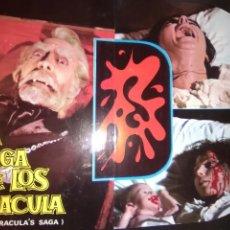 Cine: LA SAGA DE LOS DRACULA-GUIA ORIGINAL ESTRENO-TINA SAINZ TONY ISBERT-NARCISO IBAÑEZ MENTA-. Lote 257728815