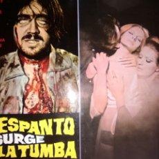 Cine: EL ESPANTO SURGE DE TUMBA GUIA ORIGINAL ESTRENO-PAUL NASCHY-EMMA COHEN-HELGA LINE-. Lote 257729445