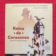 Cine: GUIA: REINA DE CORAZONES. CON: VITTORIO DUSE, JOSEPH LONG, ANITA ZAGARIA.. Lote 257756155