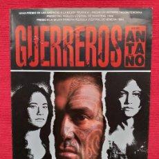 Cine: GUIA: GUERREROS DE ANTAÑO. RENA OWEN, TEMUERA MORRISON, LEE TAMAHORI. AÑO 1994. Lote 257756545
