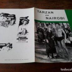 Cine: TARZAN EN NAIROBI - RON ELY, JULIE HARRIS, MANUEL PADILLA JR. - GUIA ORIGINAL TALAR FILMS 1973. Lote 257882665